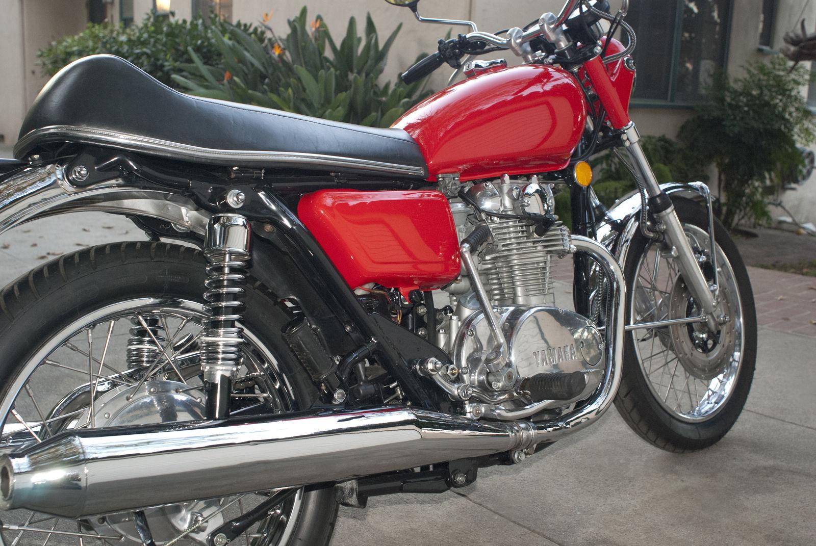 Yamaha TX650 - 1974