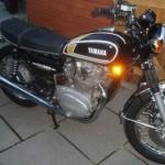 Yamaha XS650 - 1976