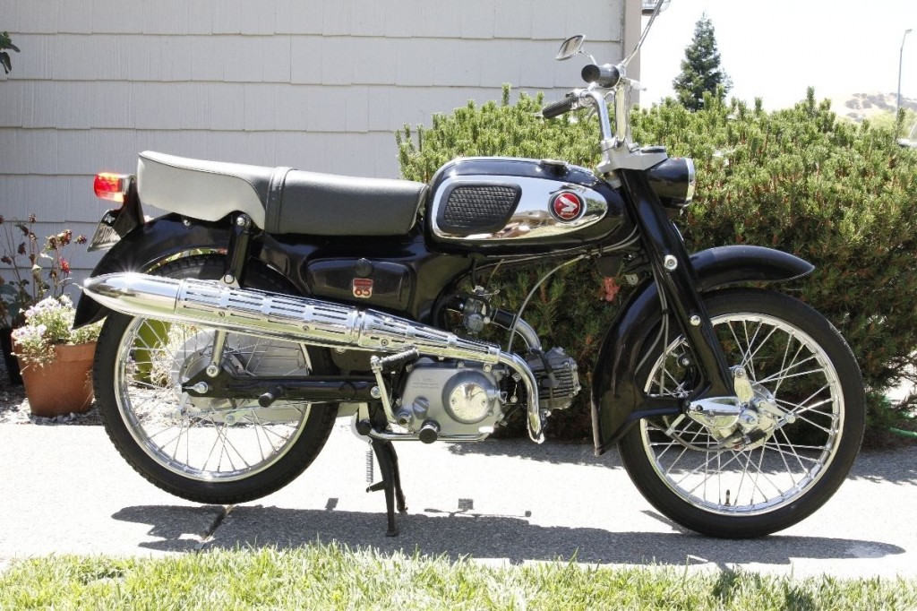 Restored Honda S65 1965 Photographs At Classic Bikes