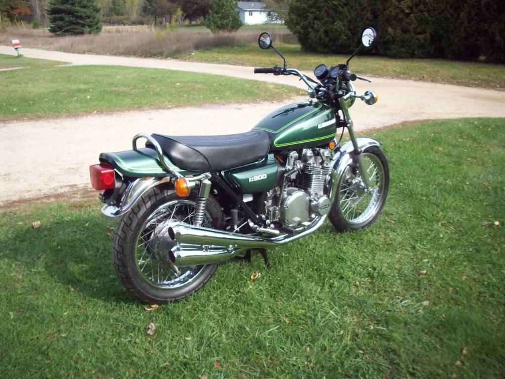 Kawasaki Kz900 1976 Restored Classic Motorcycles At