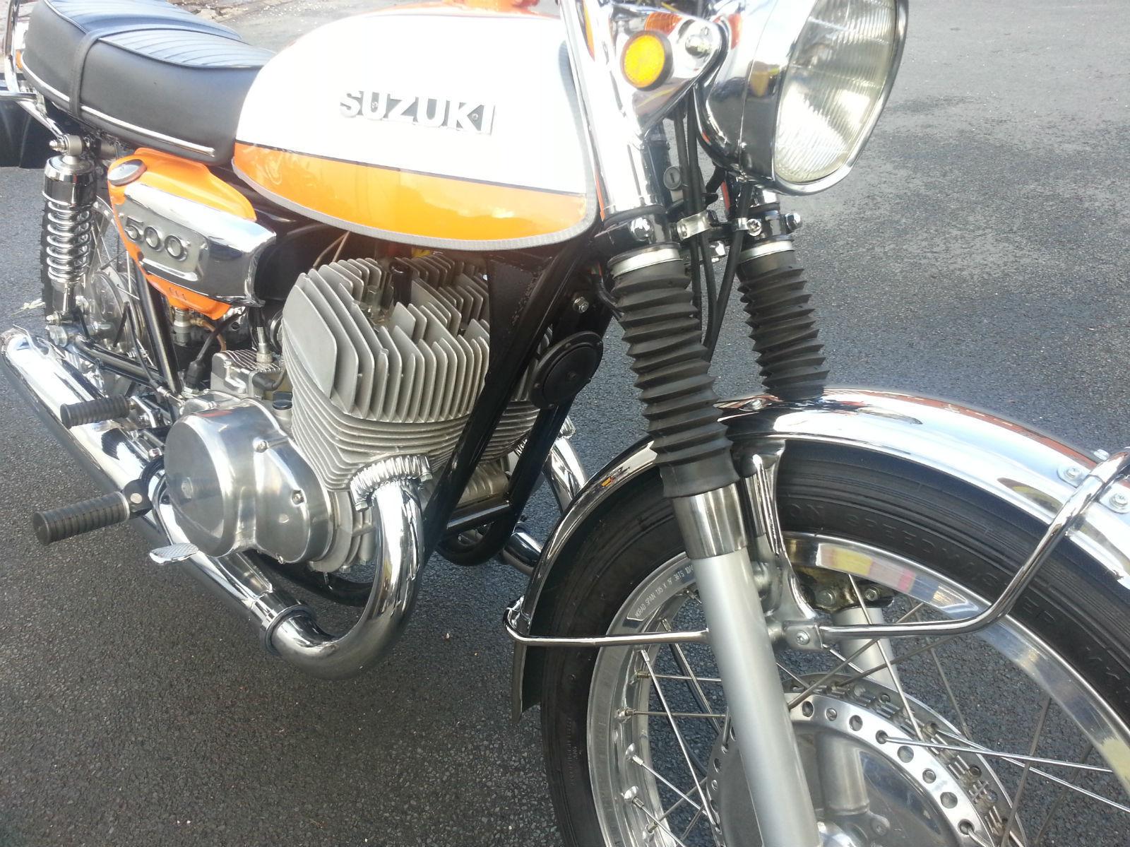Suzuki T500 Titan - 1973