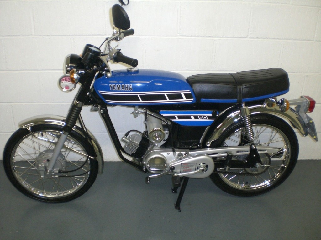 Yamaha FS1E - 1977 - Restored Classic Motorcycles at Bikes ...