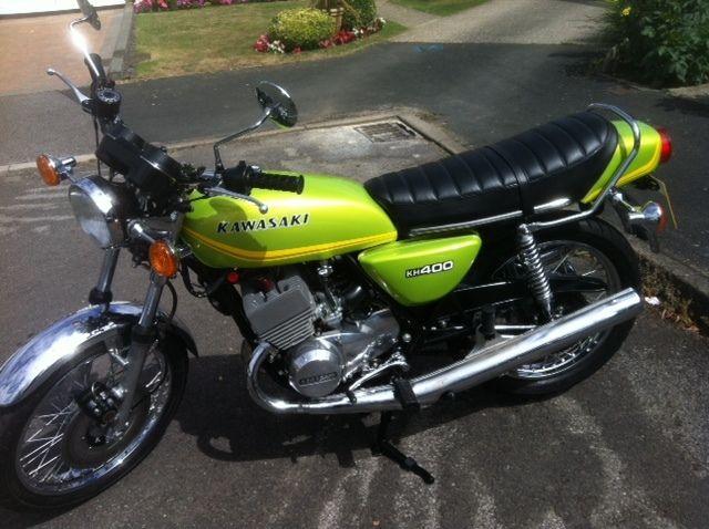 Kawasaki KH400 - 1978