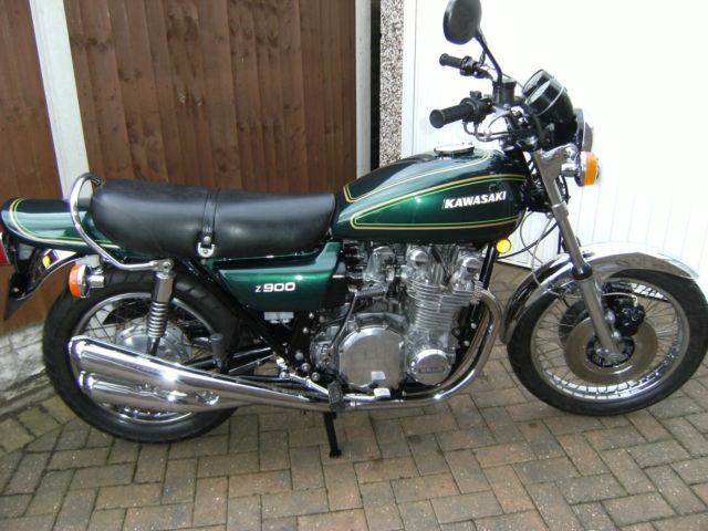 Restored Kawasaki Z900 A4 1976 Photographs At Classic
