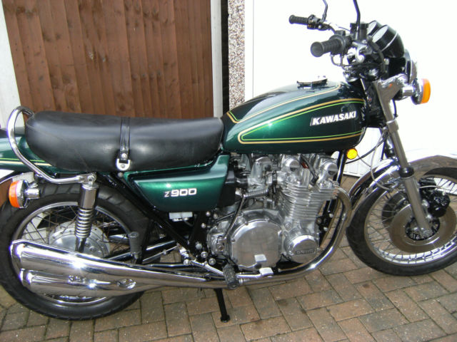 restored kawasaki z900 a4 - 1976 photographs at classic bikes