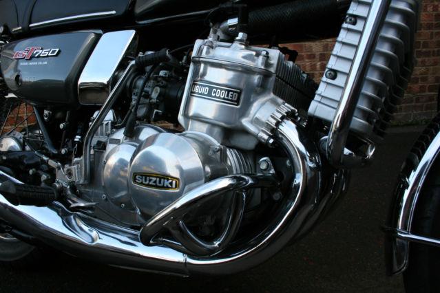 Suzuki GT750M - 1976