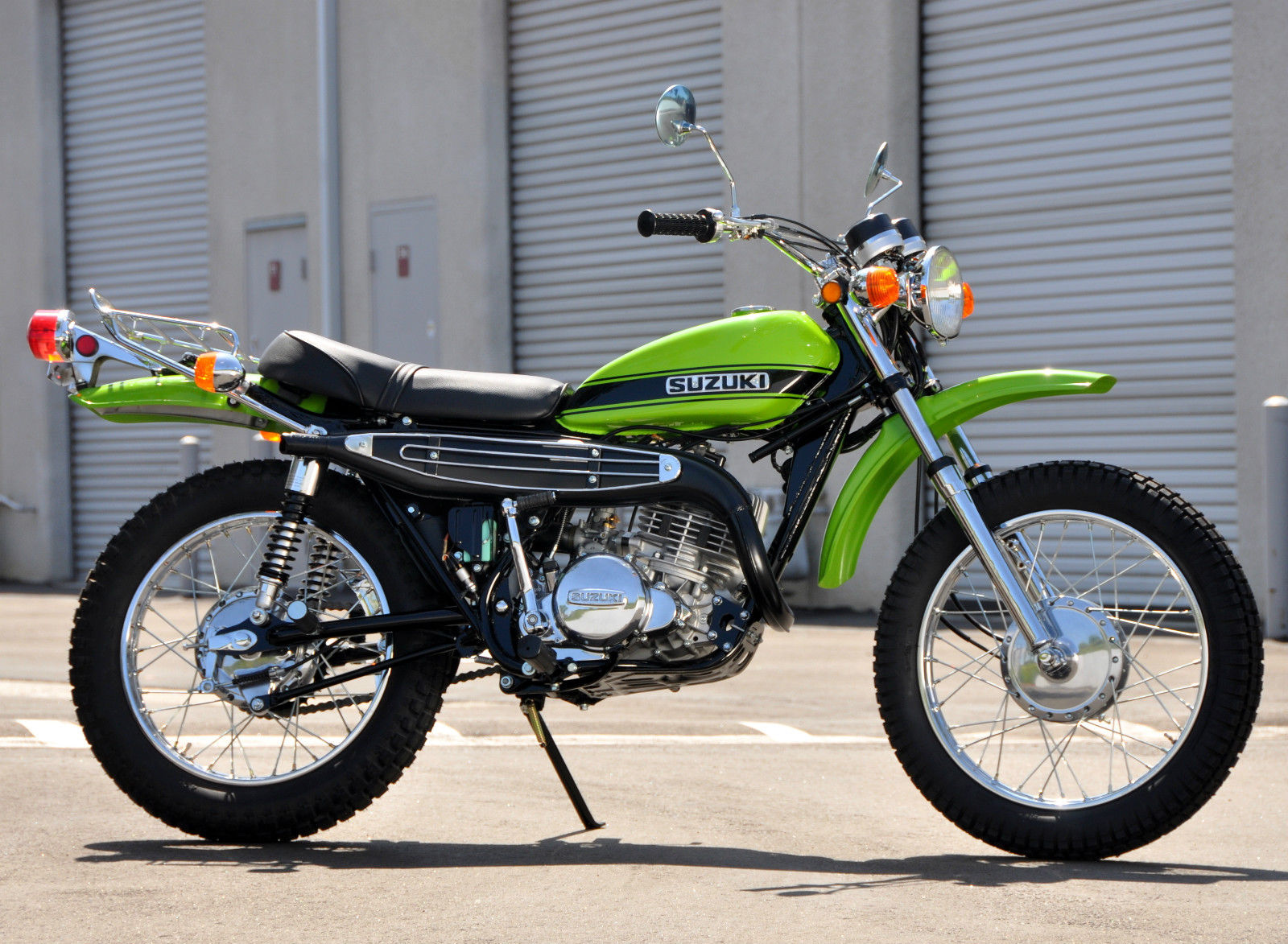 Restored Suzuki TS250 - 1971 Photographs at Classic Bikes