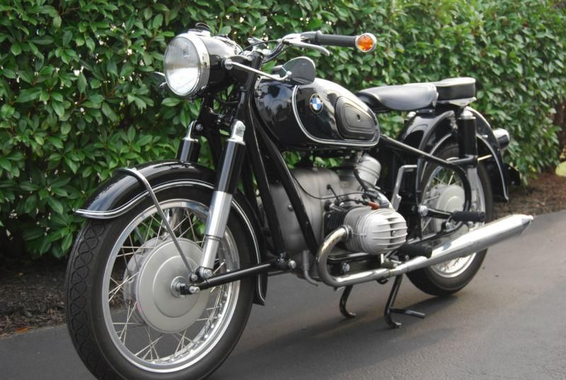 Restored Bmw R60 2 1962 Photographs At Classic Bikes