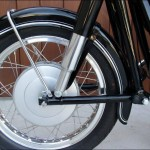 BMW R60/2 - 1962 - Front Hub, Front Wheel, Front Suspension Unit, Mudguard and Stays.