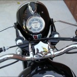BMW R60/2 - 1962 - Steering Damper, Handlebars, Speedo, Cables and Headlight.
