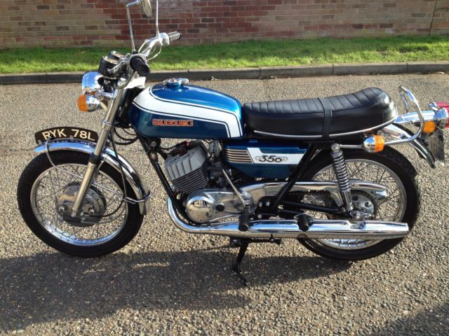 Restored Suzuki T350 - 1973 Photographs at Clic Bikes Restored ...