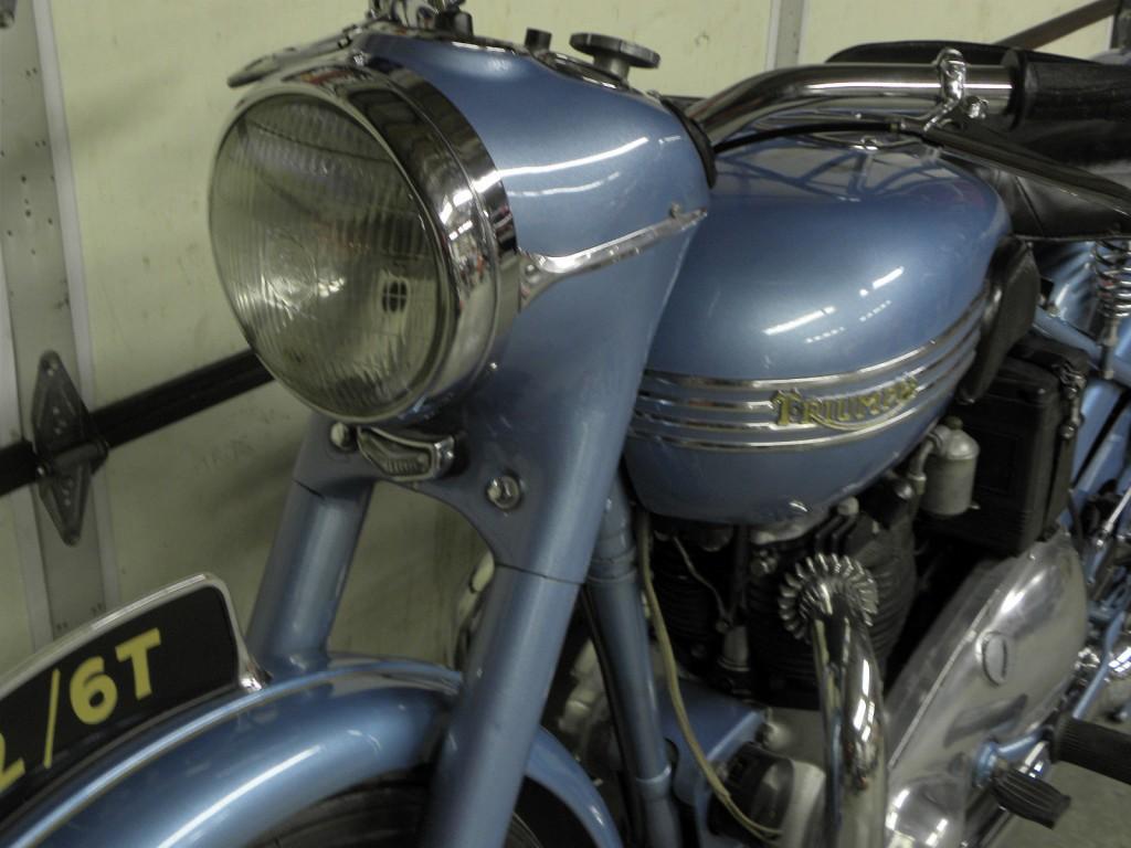 Triumph Thunderbird 6T - 1952 - Restored Classic Motorcycles at Bikes Restored |Bikes Restored