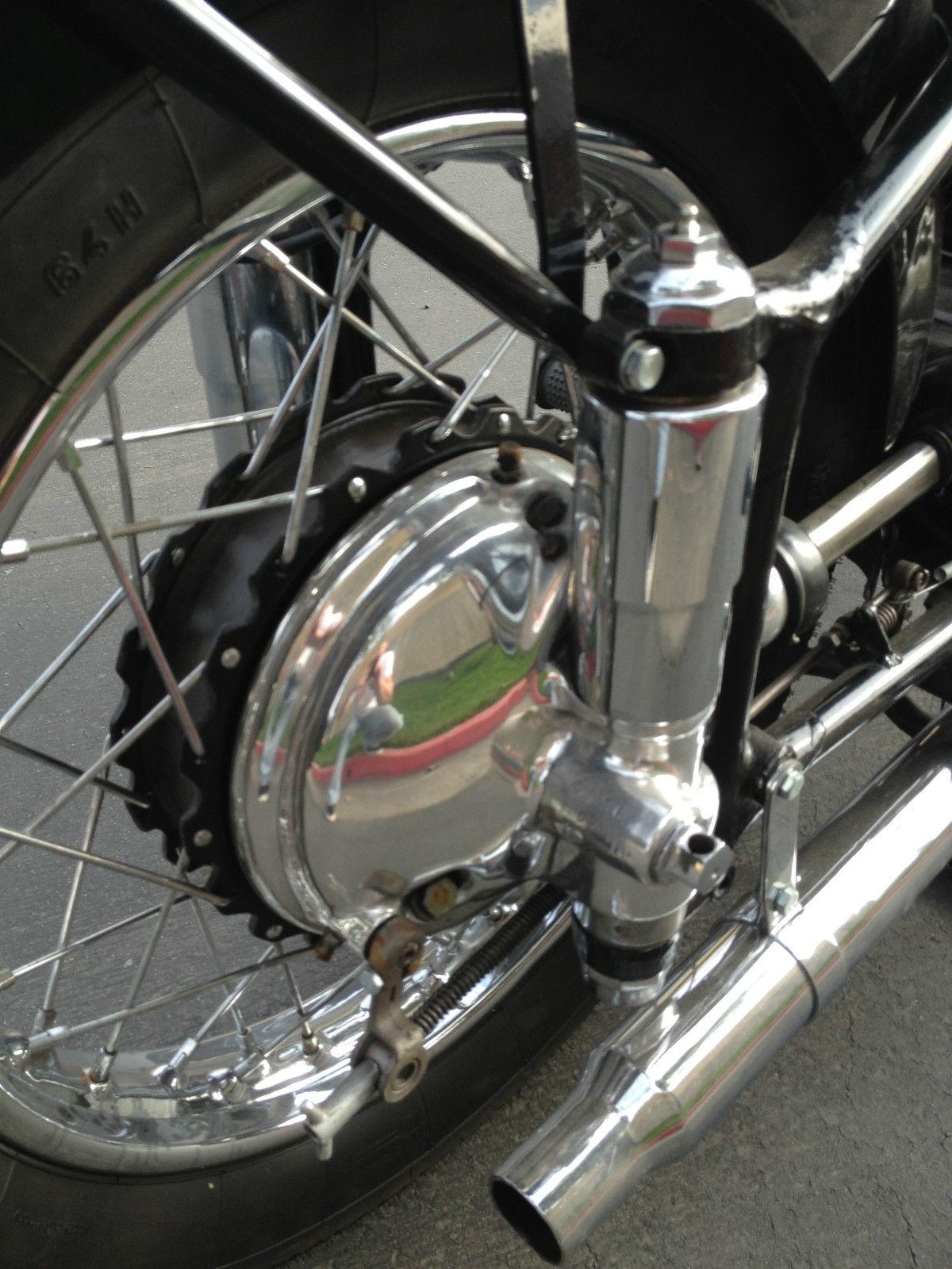 Restored Zundapp Ks601 1952 Photographs At Classic Bikes