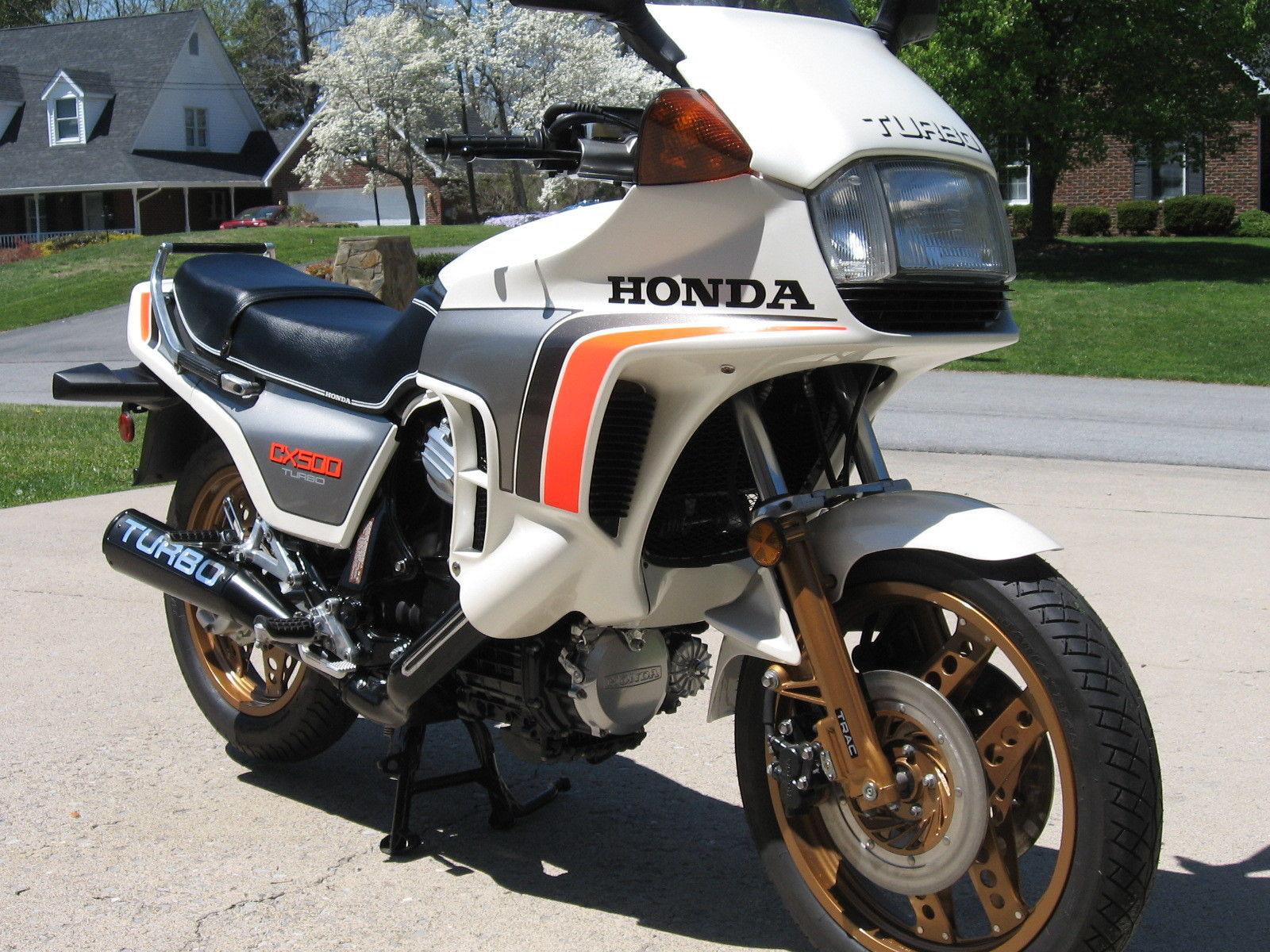 Honda CX500 Turbo - 1982