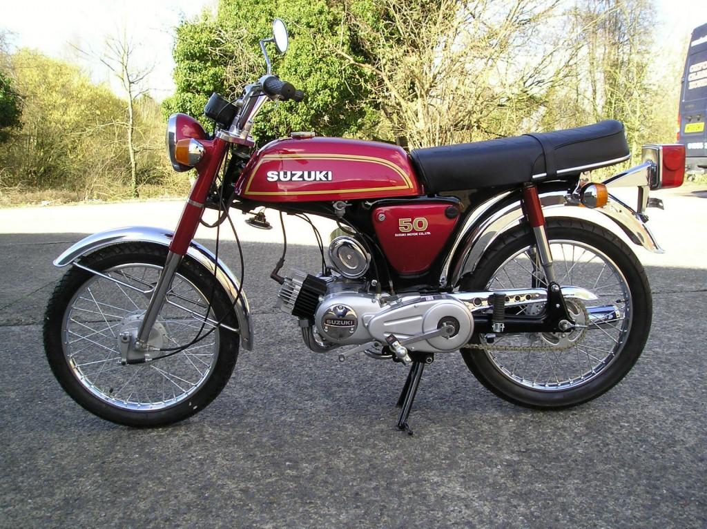 Restored Suzuki Ap50 1976 Photographs At Classic Bikes