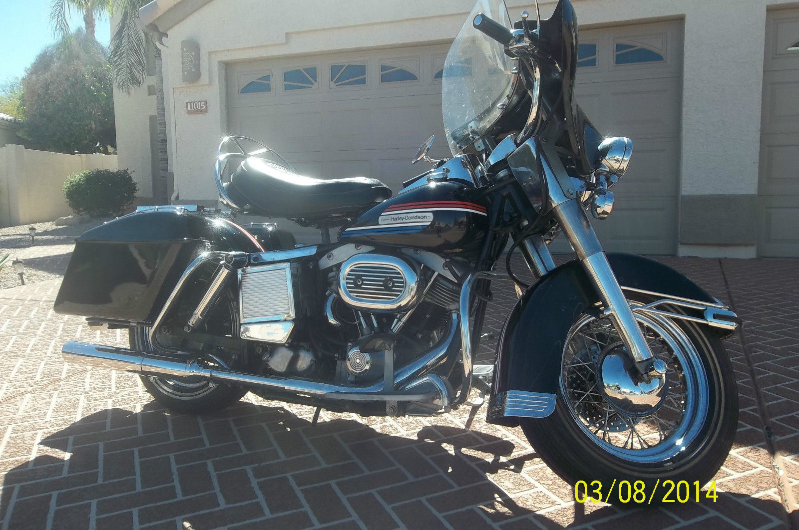 Harley-Davidson FLH1200 - 1974