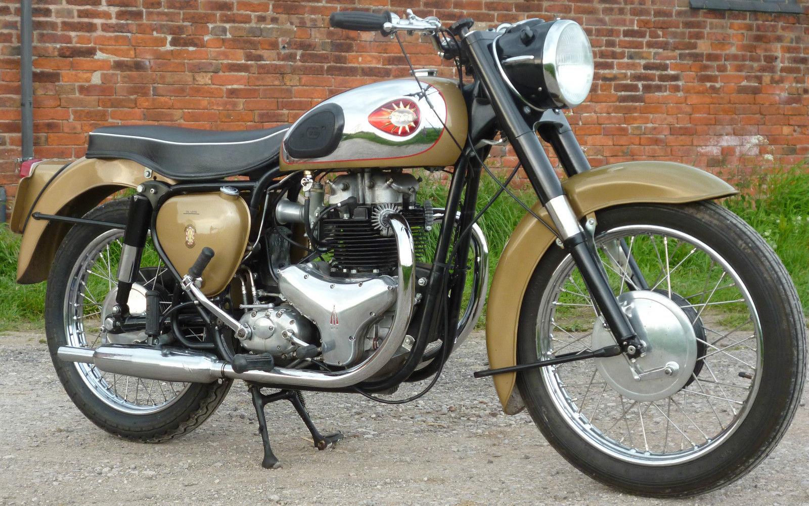 BSA Golden Flash - 1959