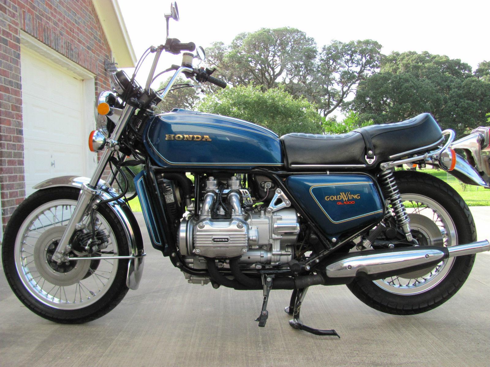 Honda Goldwing - 1977