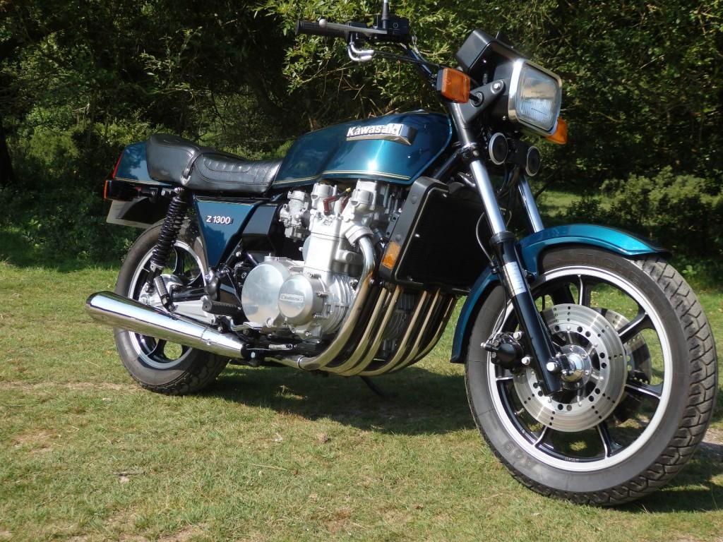 Restored Kawasaki Kz1300 1979 Photographs At Classic