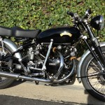 Vincent Black Shadow - 1953