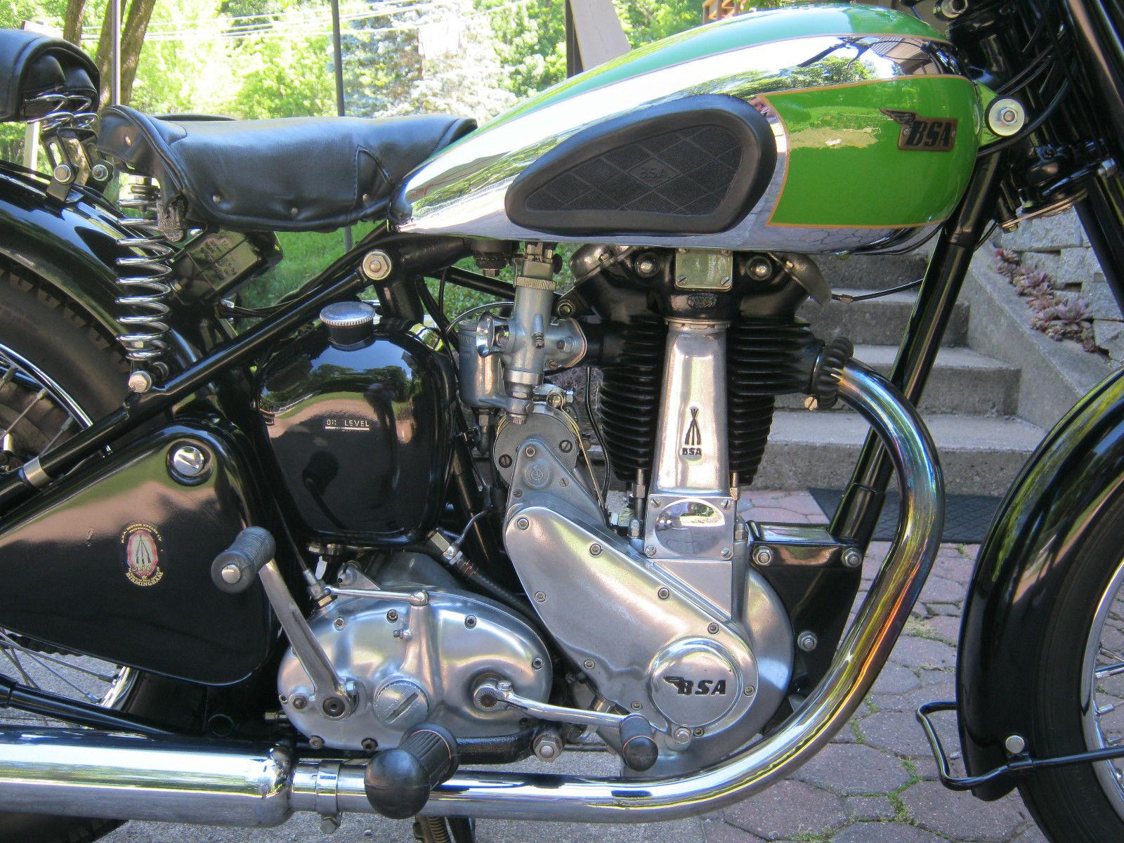 BSA B31 - 1950