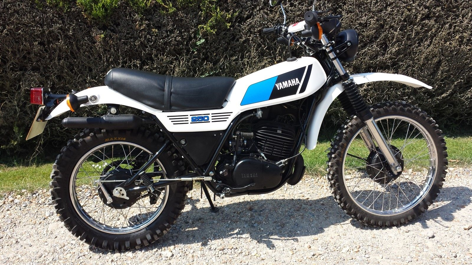Restored yamaha dt250 1979 photographs at classic bikes for Yamaha dt 250 for sale