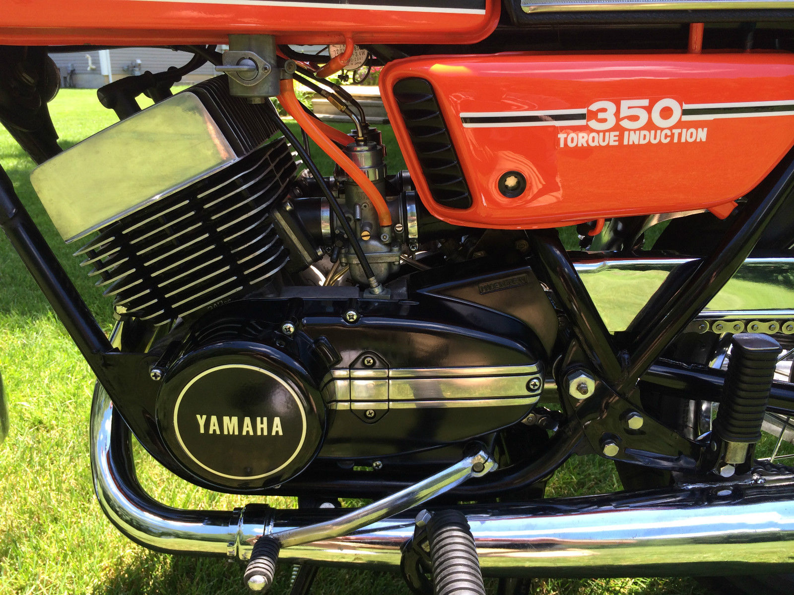 Restored Yamaha RD350 - 1976 Photographs at Classic Bikes