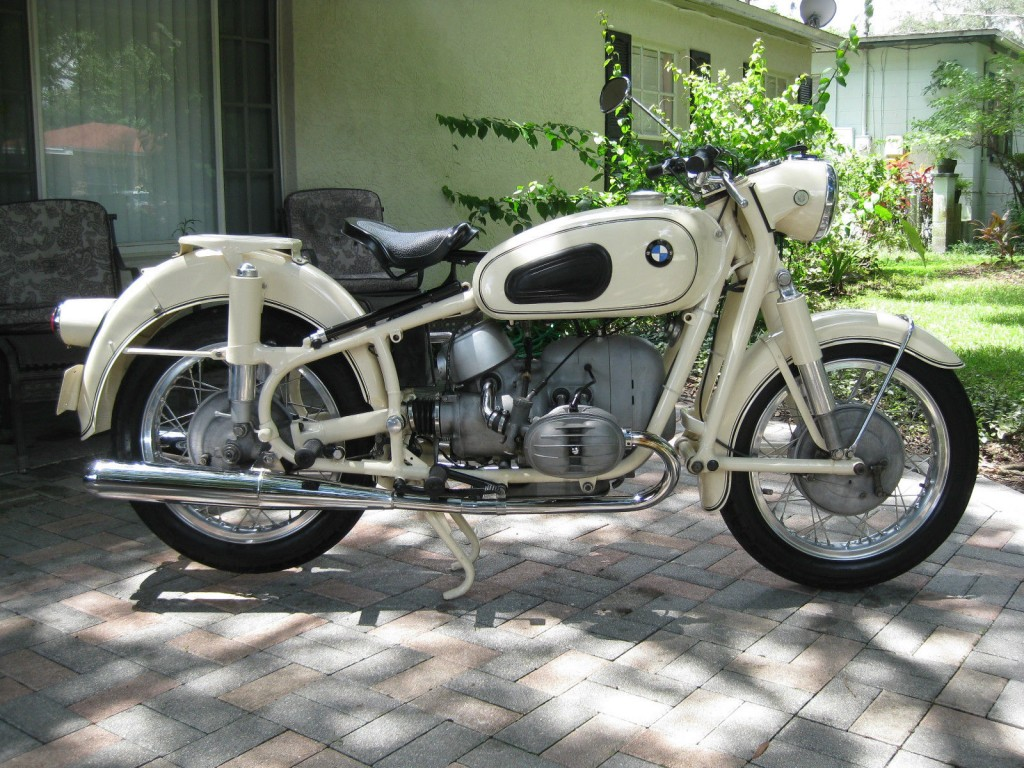 restored bmw r50 2 1964 photographs at classic bikes. Black Bedroom Furniture Sets. Home Design Ideas