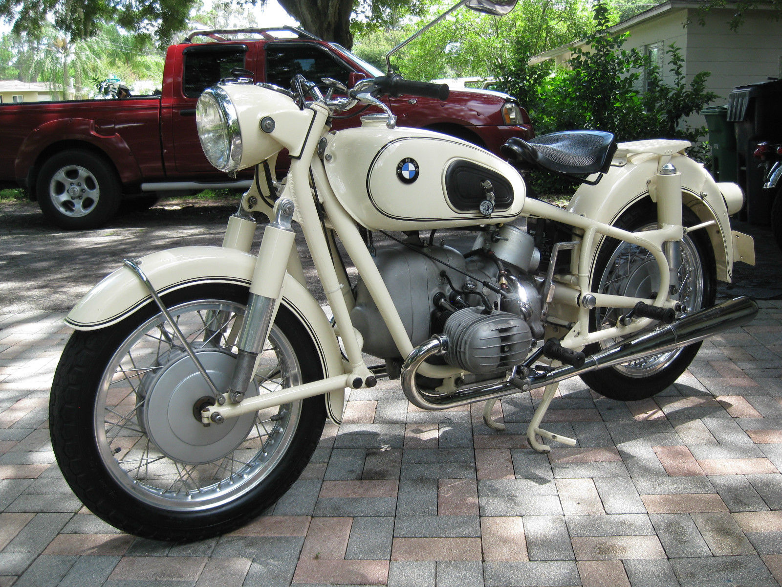 Restored Bmw R50 2 1964 Photographs At Classic Bikes Restored Bikes Restored