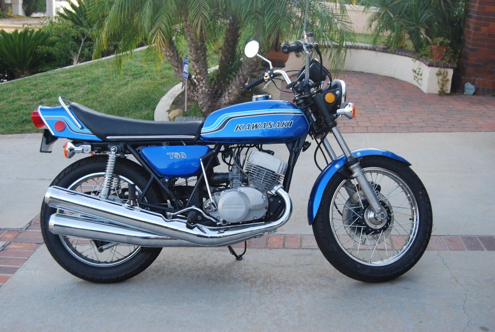 Kawasaki H2 750 - 1972 - Restored Clic Motorcycles at Bikes ...