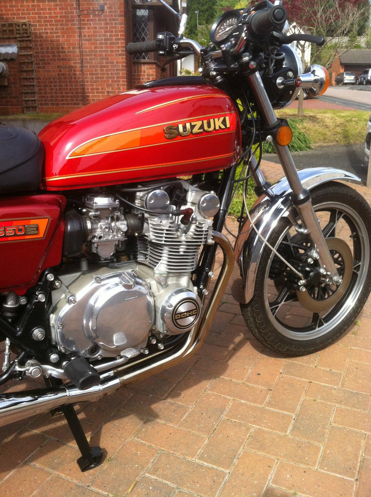 Suzuki GS550 - 1980