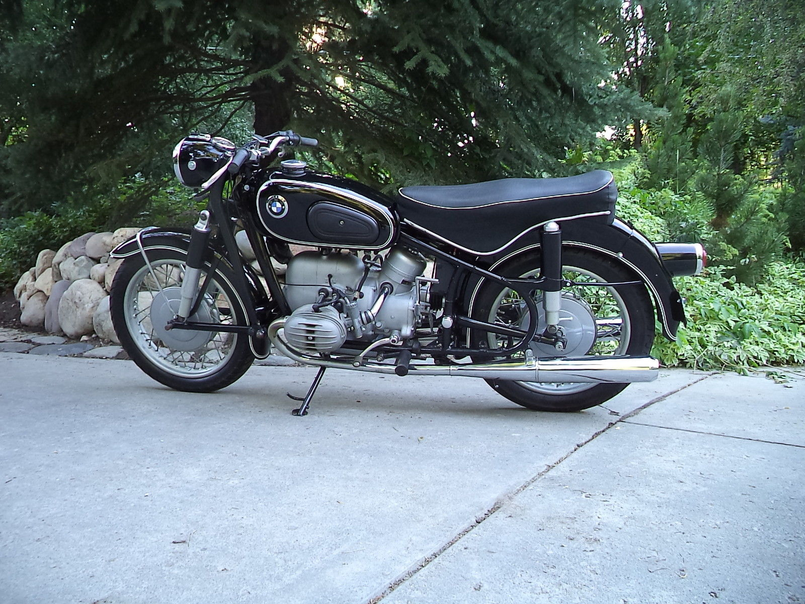 restored bmw r50 2 1969 photographs at classic bikes. Black Bedroom Furniture Sets. Home Design Ideas