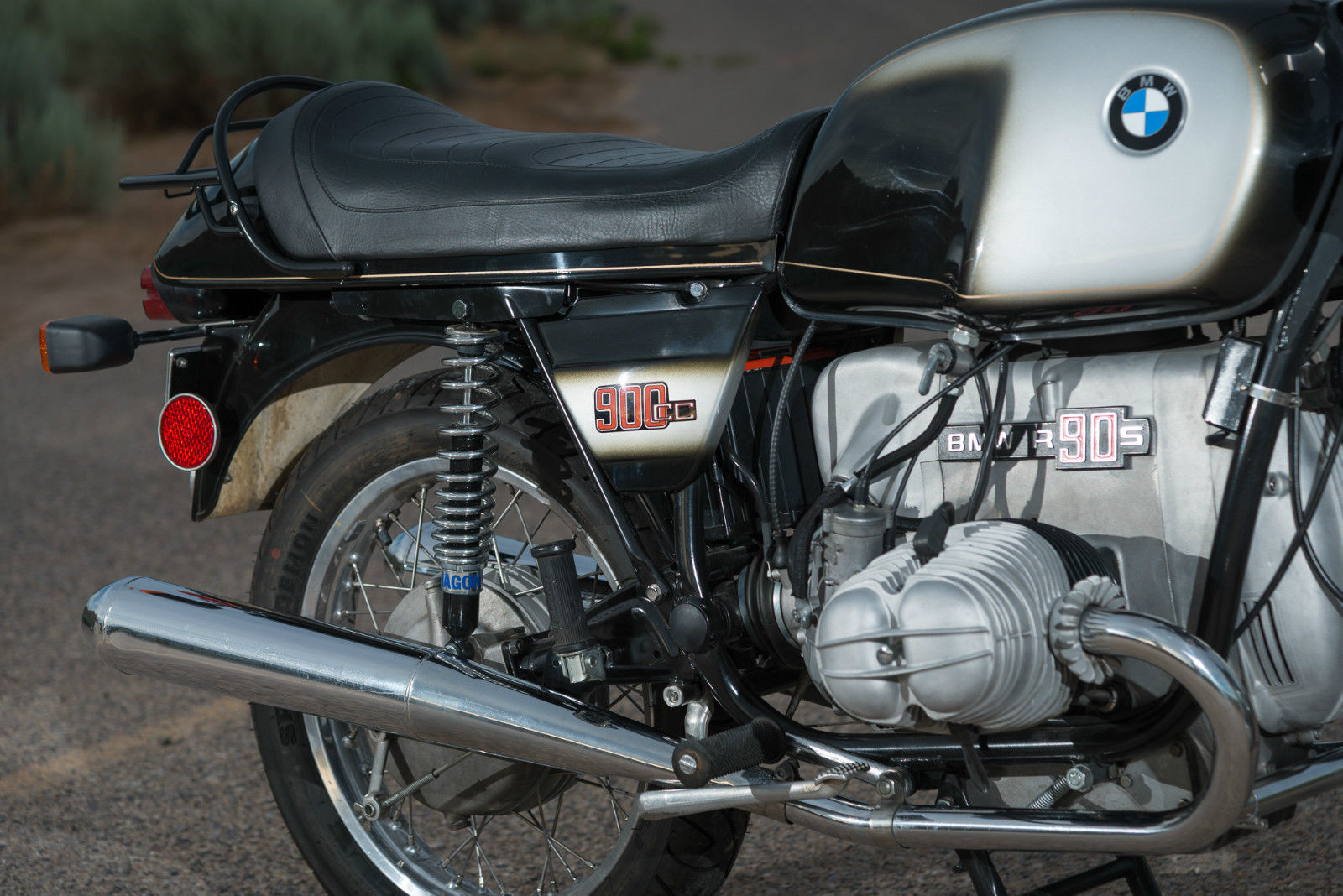 Restored Bmw R90s 1975 Photographs At Classic Bikes