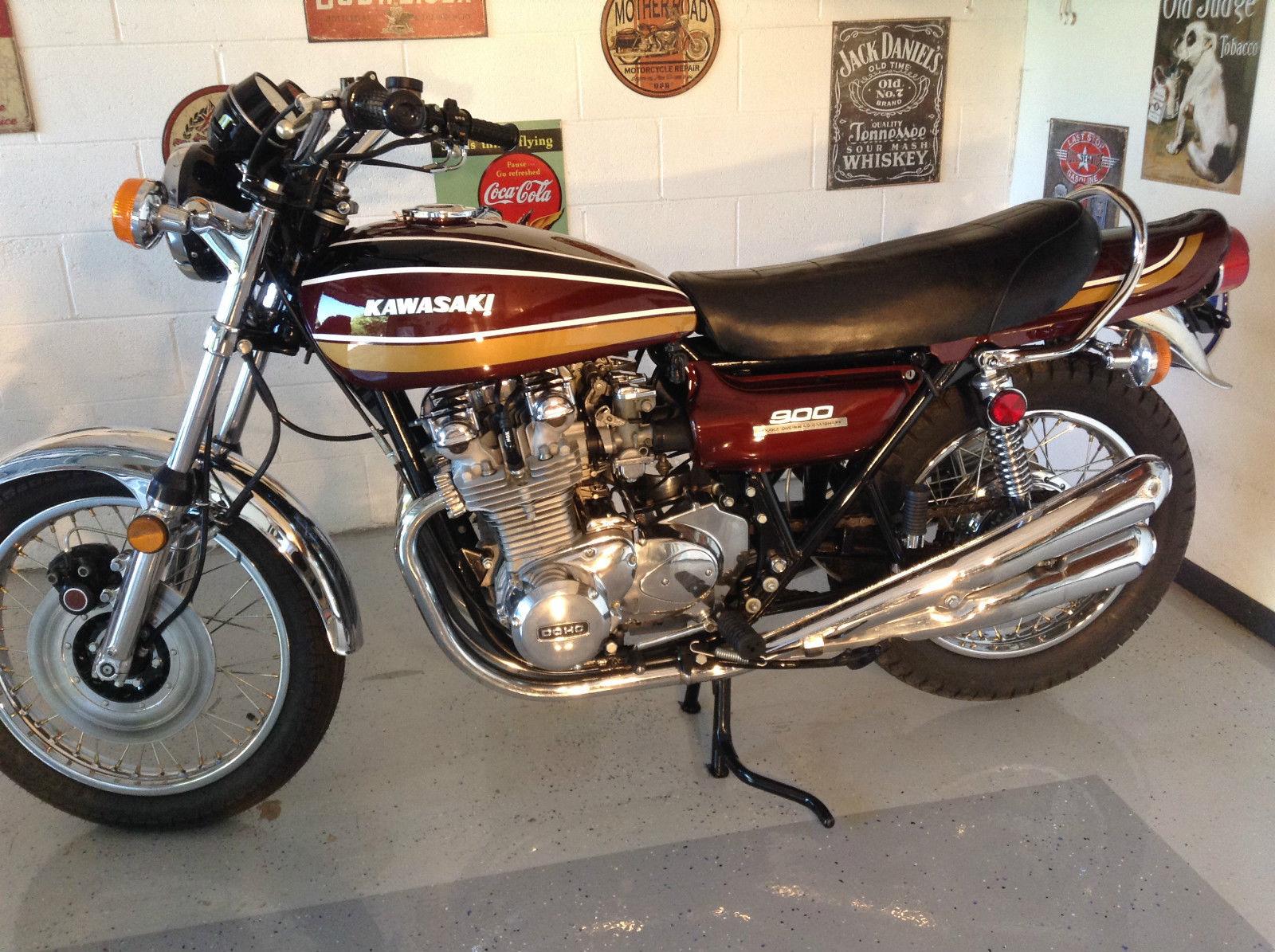 1975 Kawasaki Z900 *   Classic bikes, Kawasaki, Classic