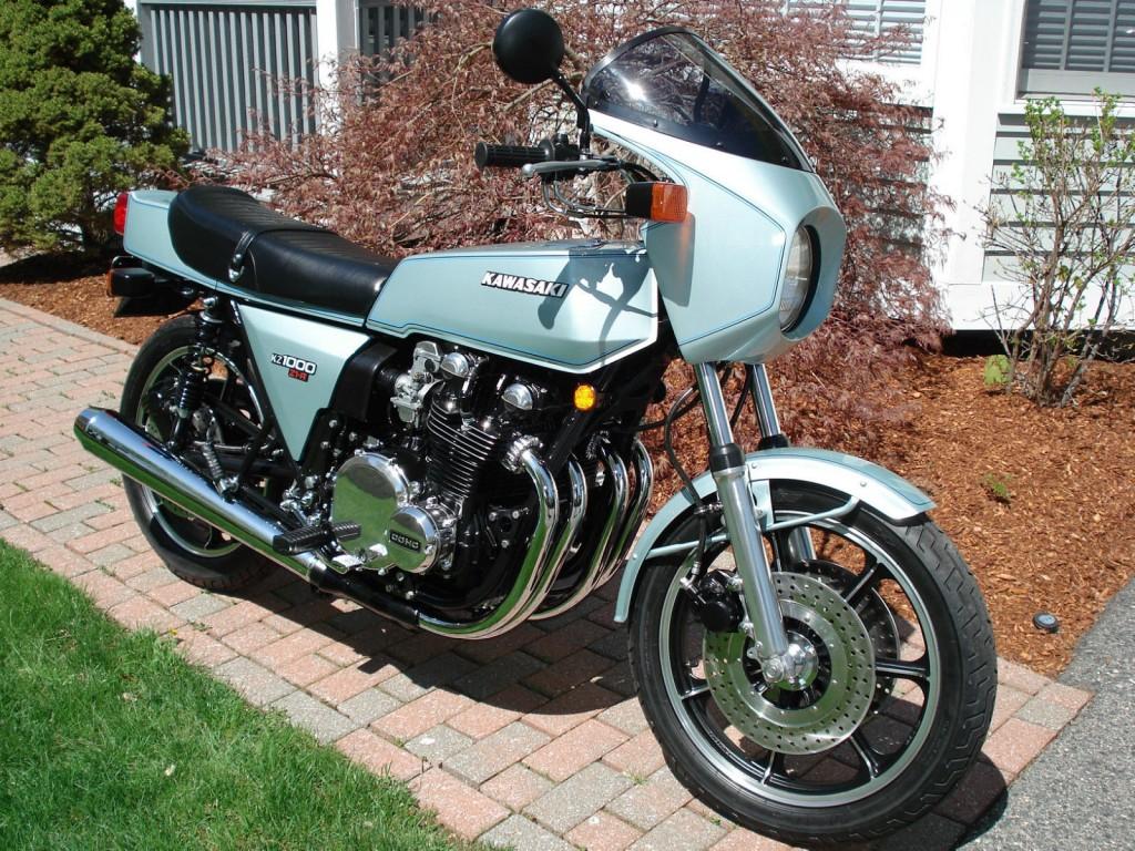 Restored Kawasaki Z1r 1978 Photographs At Classic Bikes