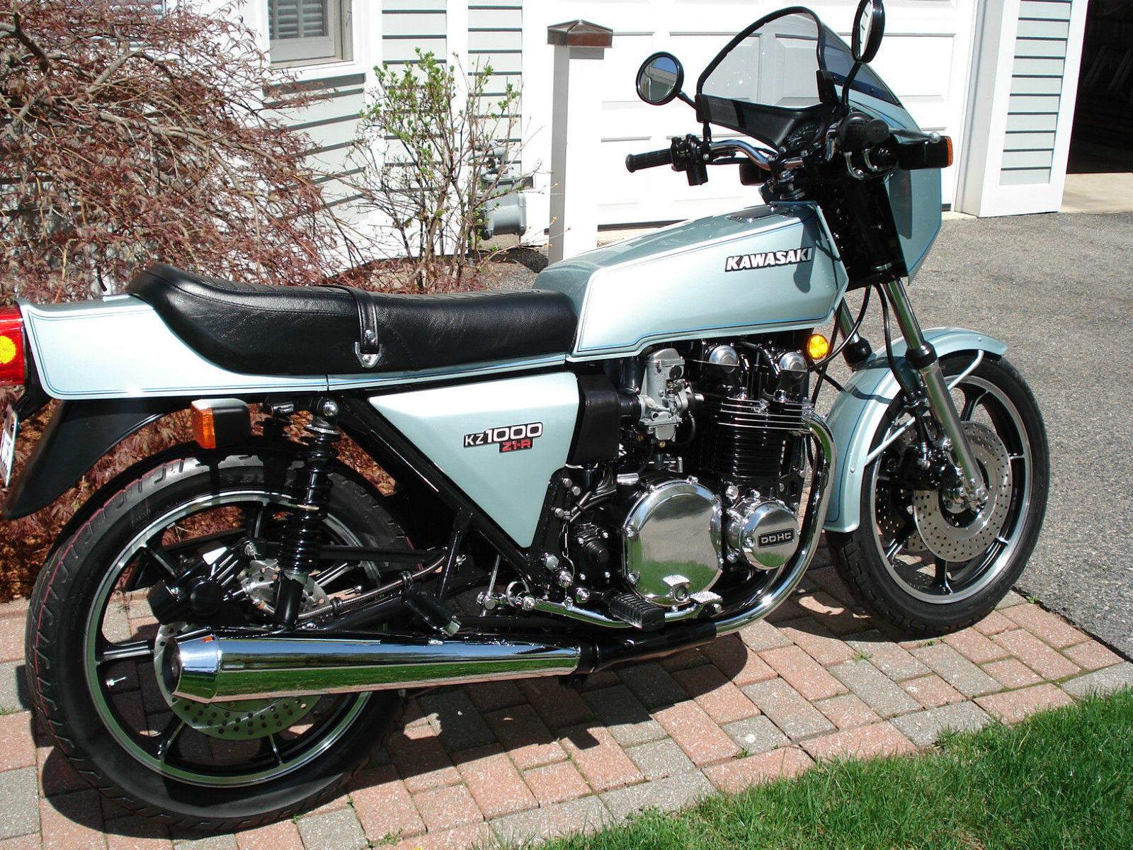 Restored Kawasaki Z1R - 1978 Photographs at Classic Bikes