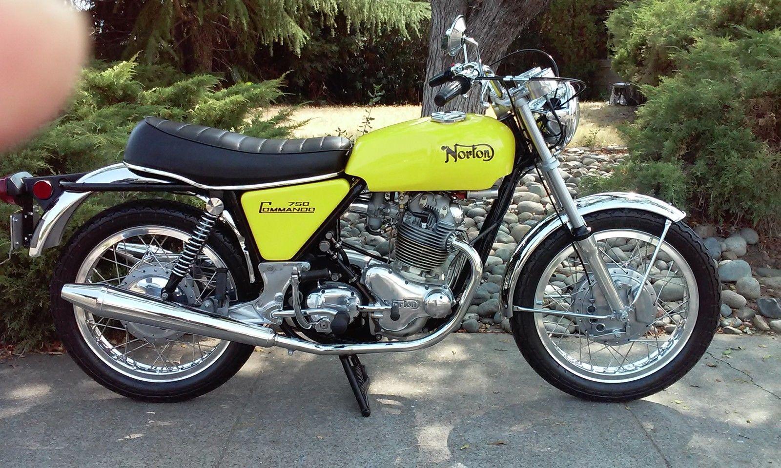 Restored Norton Commando 1970 Photographs At Classic Bikes Restored Bikes Restored
