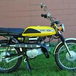 Suzuki T125 Stinger - 1971
