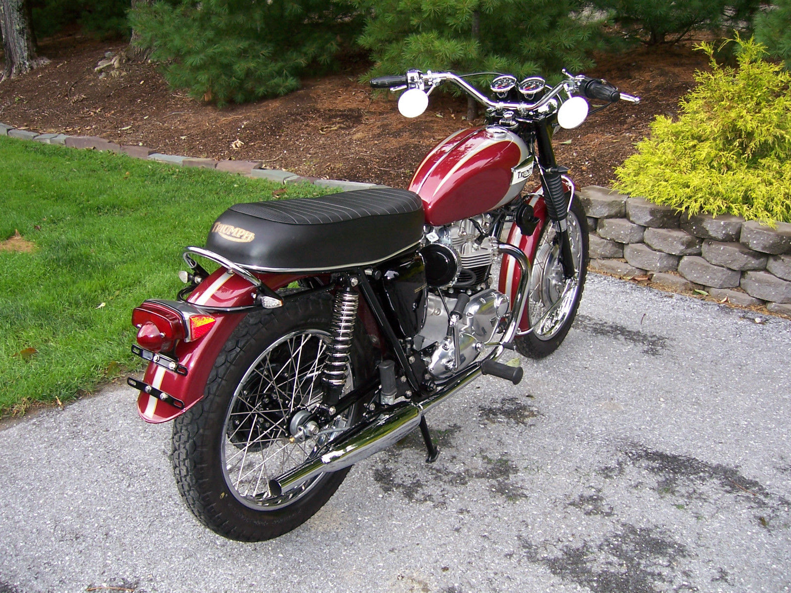 Triumph Bonneville 650 1970 Restored Classic Motorcycles At Wiring Harness For 1971 Motorcycle