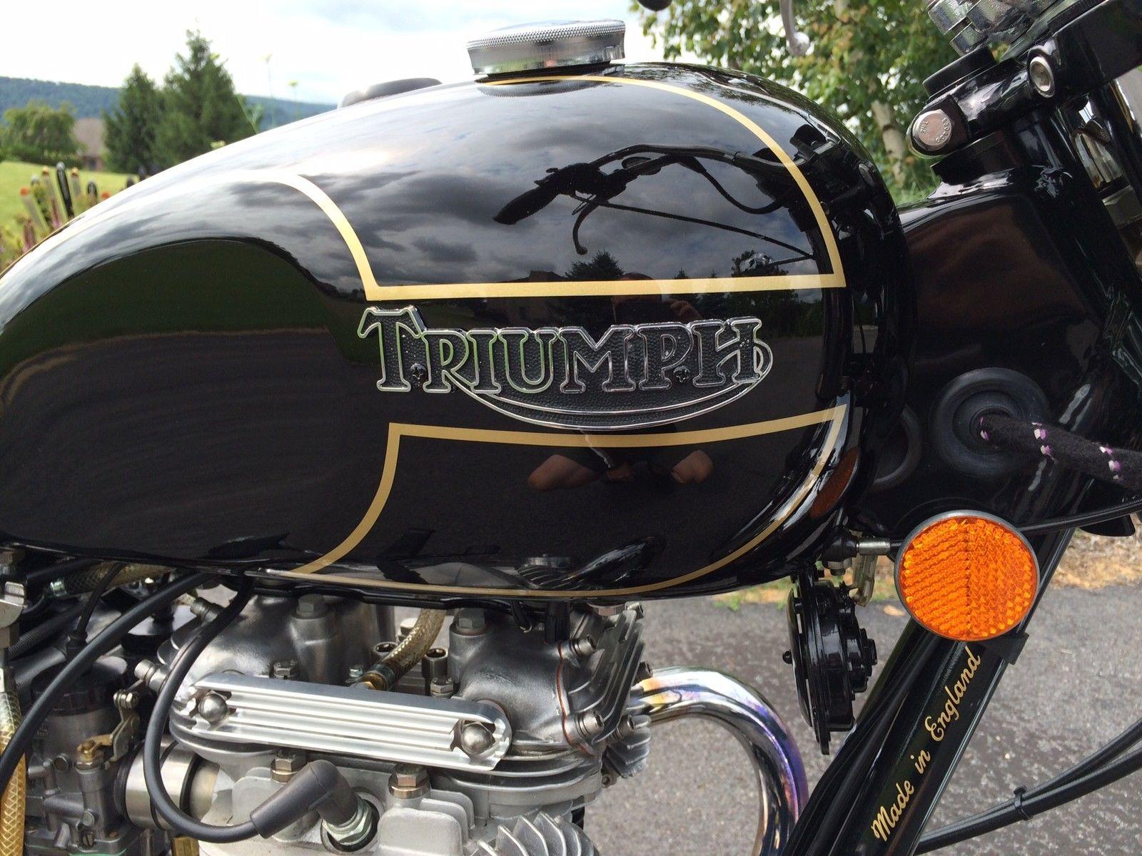 Triumph Bonneville T140D - 1979