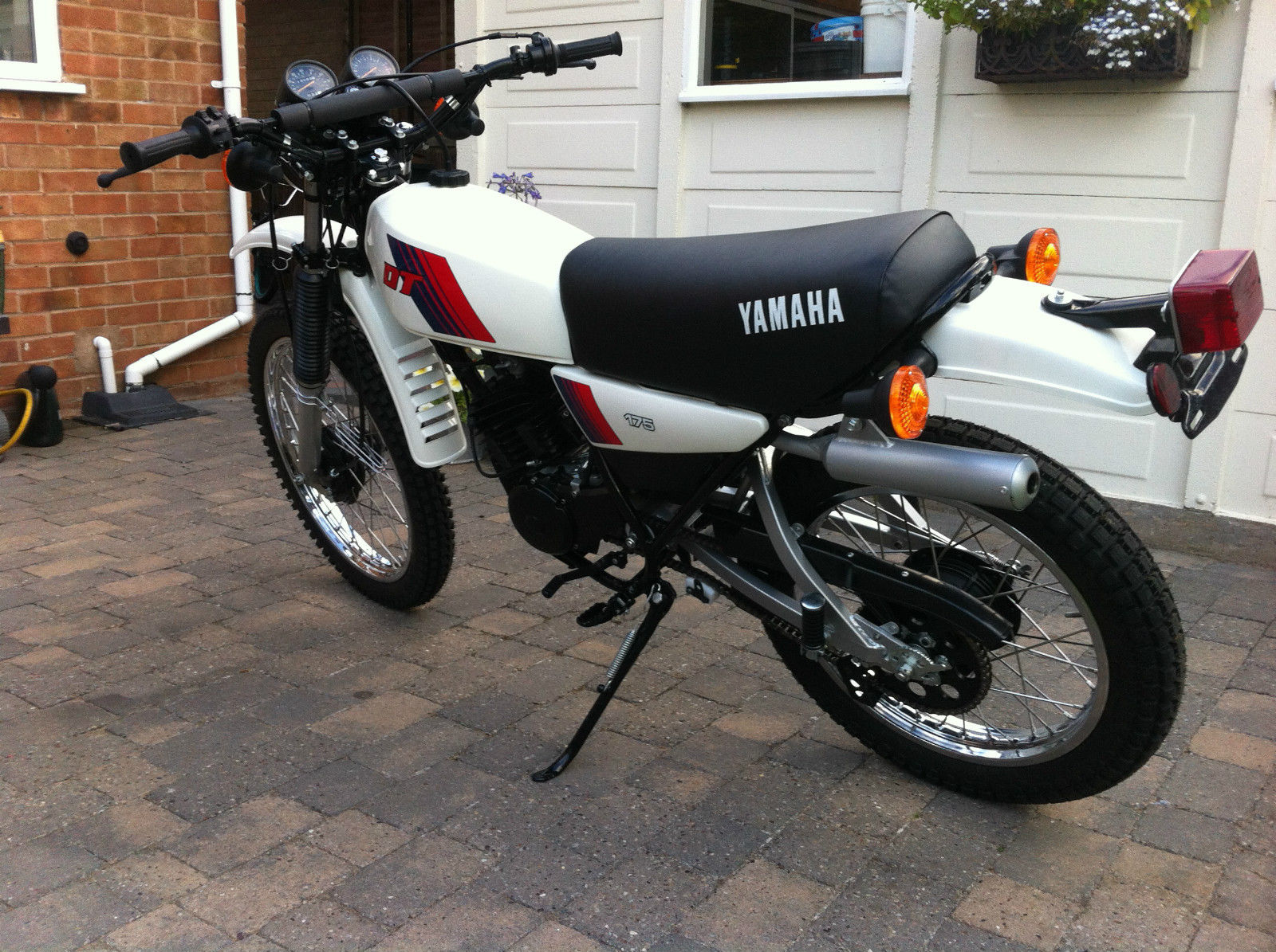restored yamaha dt175mx 1981 photographs at classic