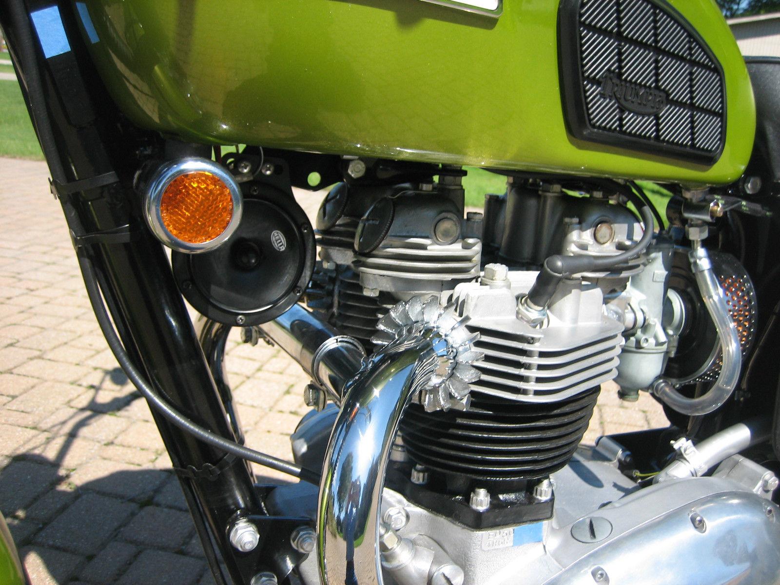 Triumph Tiger 650 - 1970