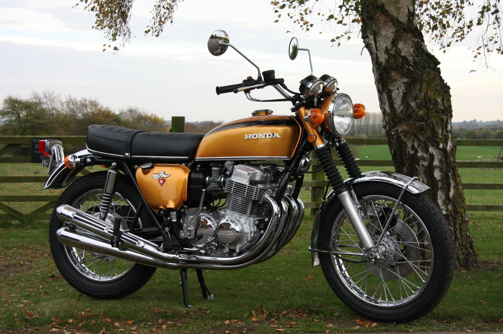 Restored Honda Cb750k1 1971 Photographs At Classic Bikes