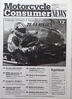 motorcycle consumer news magazine