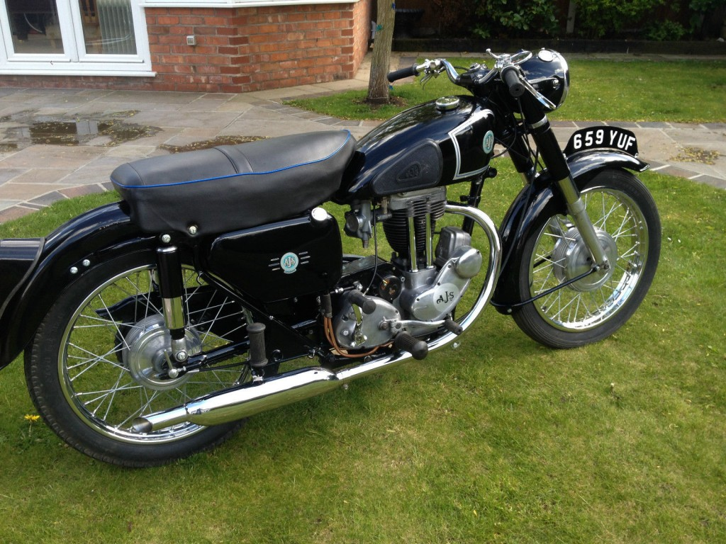 Restored Classic Motorcycles At Bikes