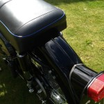 AJS 16MS - 1957 - Seat, Rear Fender and Tail Light.
