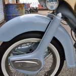 Ariel Arrow SS - 1961 - Front wheel forks and mudguard