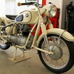 BMW R27 - 1966 - Front Wheel, Front Suspension and Fender.