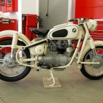 BMW R27 - 1966 - Right Side View, Frame, Engine and Wheels.