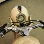 BMW R27 - 1966 - Steering Damper, Speedometer, Head Light and Handlebars.